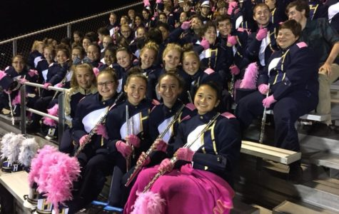 Marching Band Participates in Mattress Fundraiser