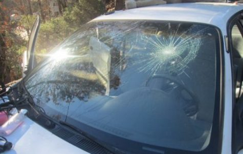 Rocks thrown off I-70 overpass, up to 35 cars damaged