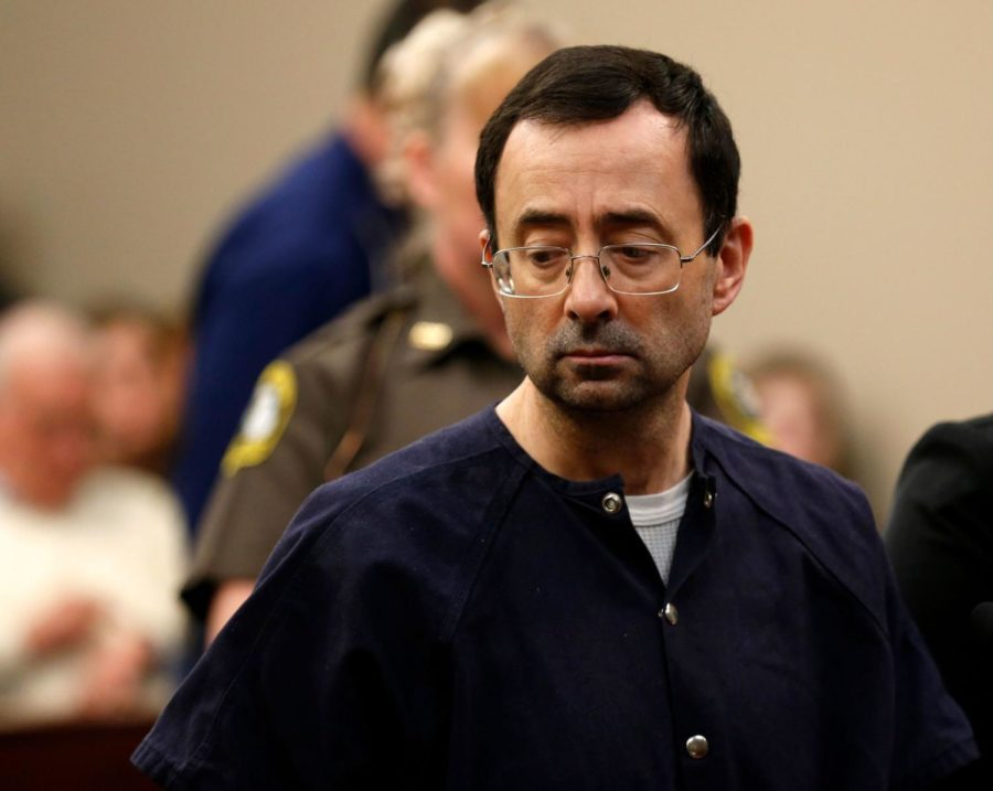 Dr.+Lawrence+G.+Nassar+was+sentenced+40+to+175+years+in+prison