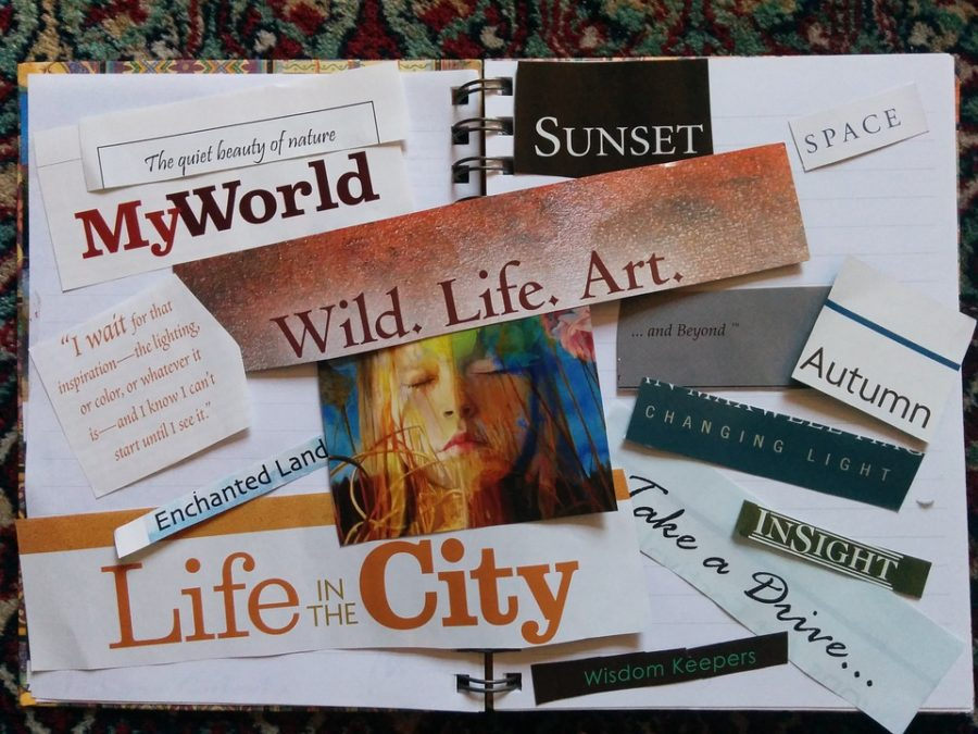 Scrapbook+Manifestation+Scrapbooking+Vision+Board