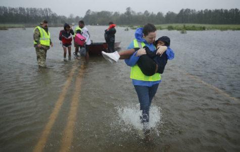 Hurricane Florence Hits North Carolina Hard