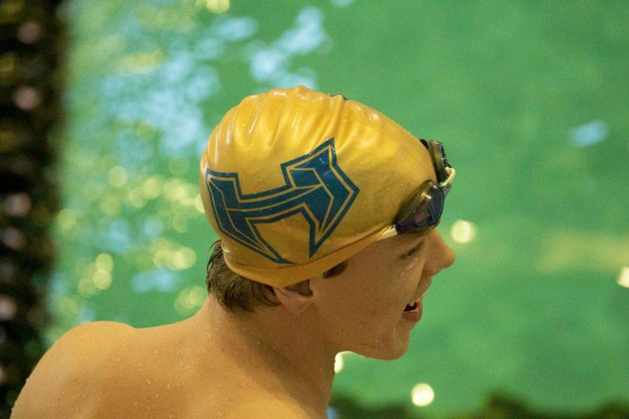 Scheuermann Swims Through State