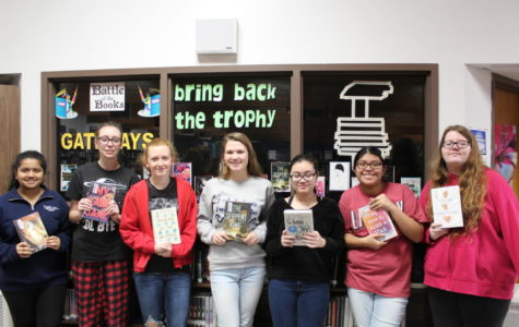 Holts 2018-2019 Battle of the Books team