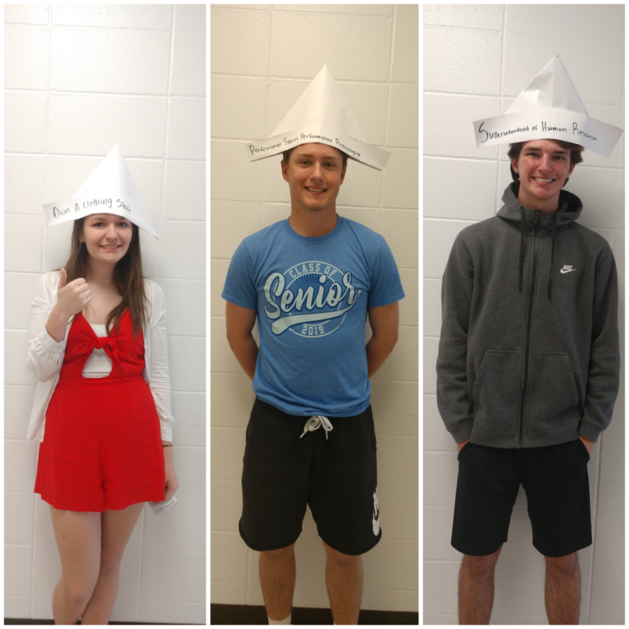 Grace Fugate, Michael Lutes and Jacob Teater have high hopes  for their future.