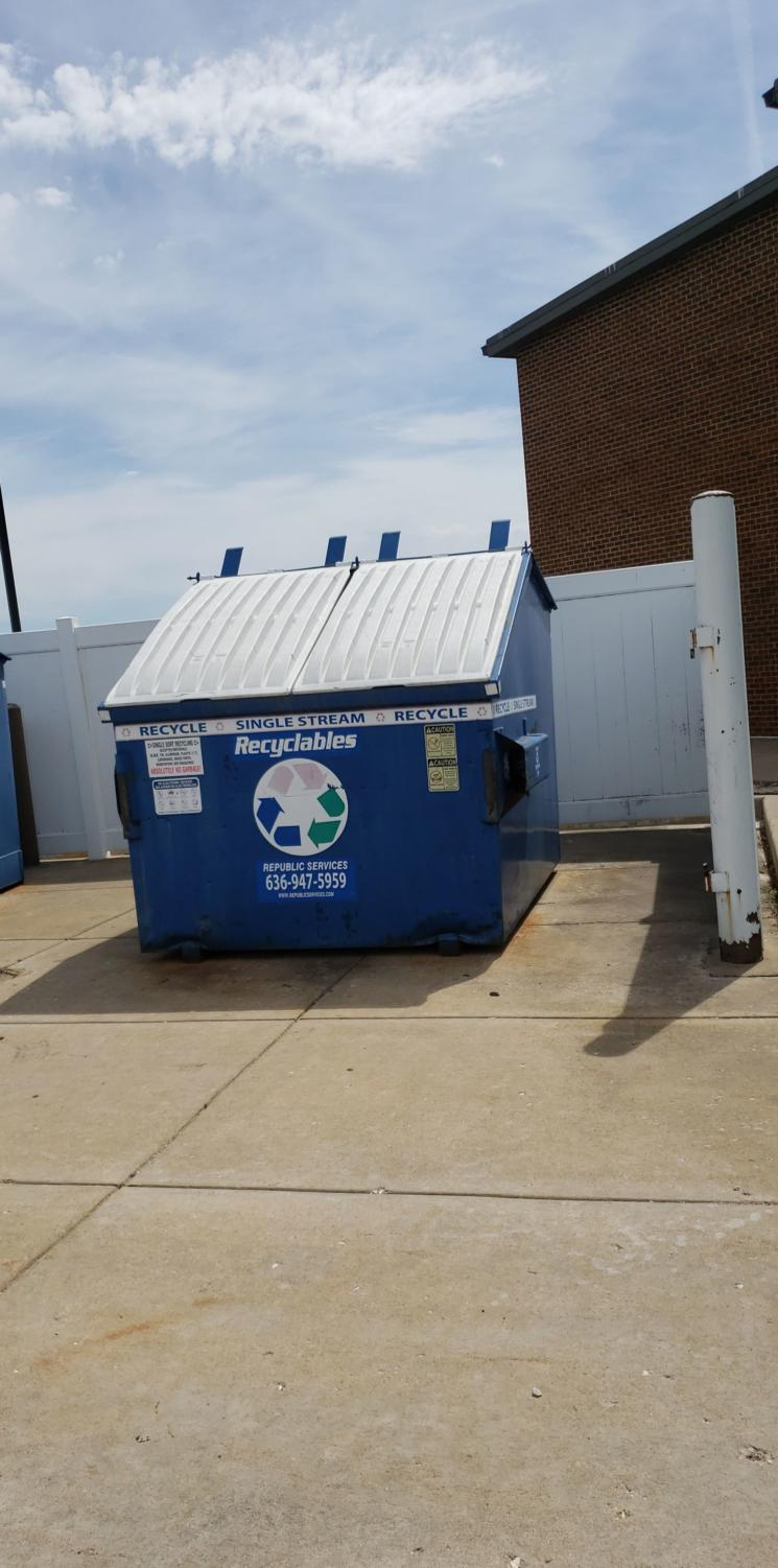 Recycling bins are in use at our school, but what about the ones in the classrooms?