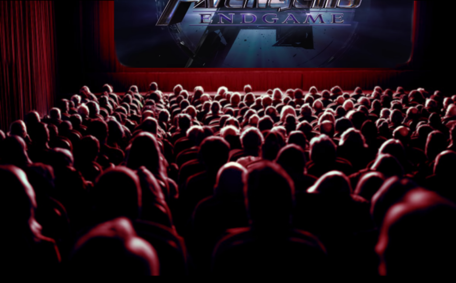 With the popular movie being released, theaters start to become packed.