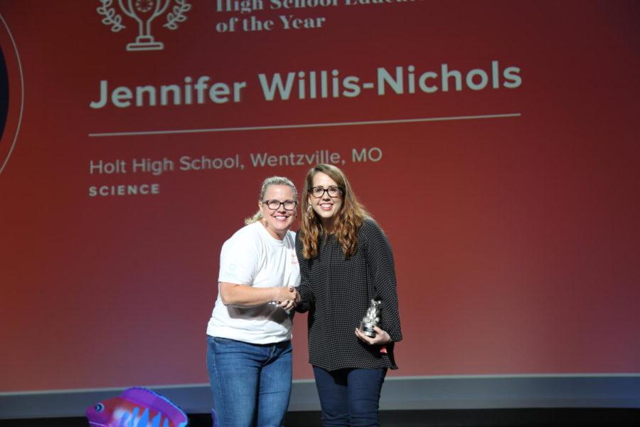 Mrs. Nichols Receives National Award