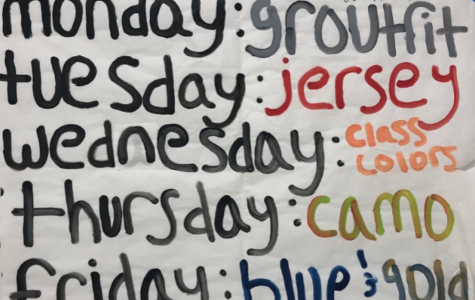 Homecoming Spirit Week!!!