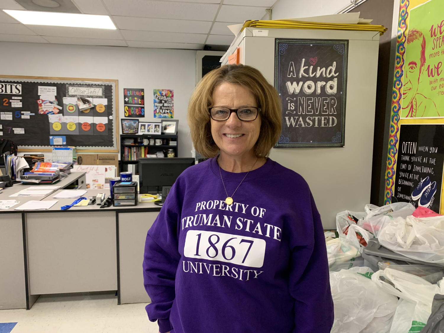 A 23-year veteran, Mrs. Jolene Wofford has made a mark at our school.