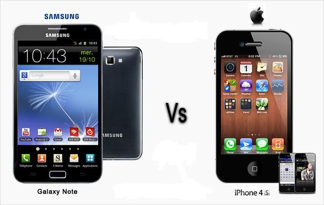 The debate between Samsung vs Apple can get very hairy.