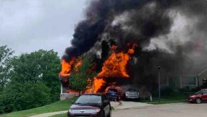 Wentzville Family Loses All in House Fire