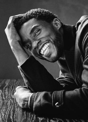 A photo of the late Chadwick Boseman.