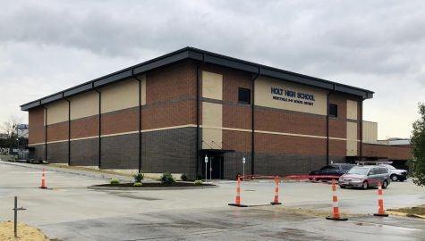 The new gym was built, but there is a delay and wasn