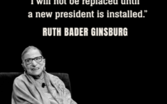 The late U.S Supreme Court Justice Ruth Bader Ginsburg's last wishes in regards to succession.