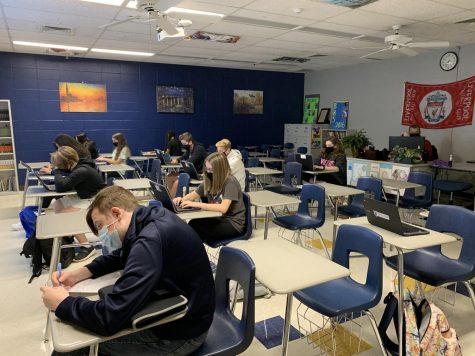 Students in Mr. Jim Pruitt