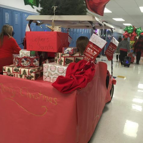 The essential skills classroom worked to bring some holiday cheer to our community, and the payoff is here.
