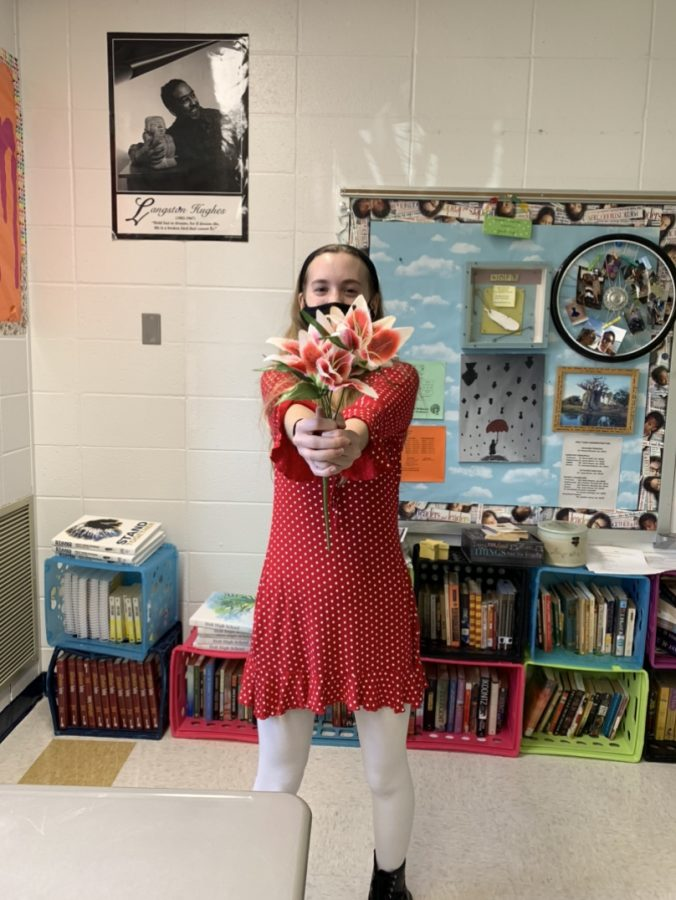 A Valentines day tradition that many people take part in is giving flowers.