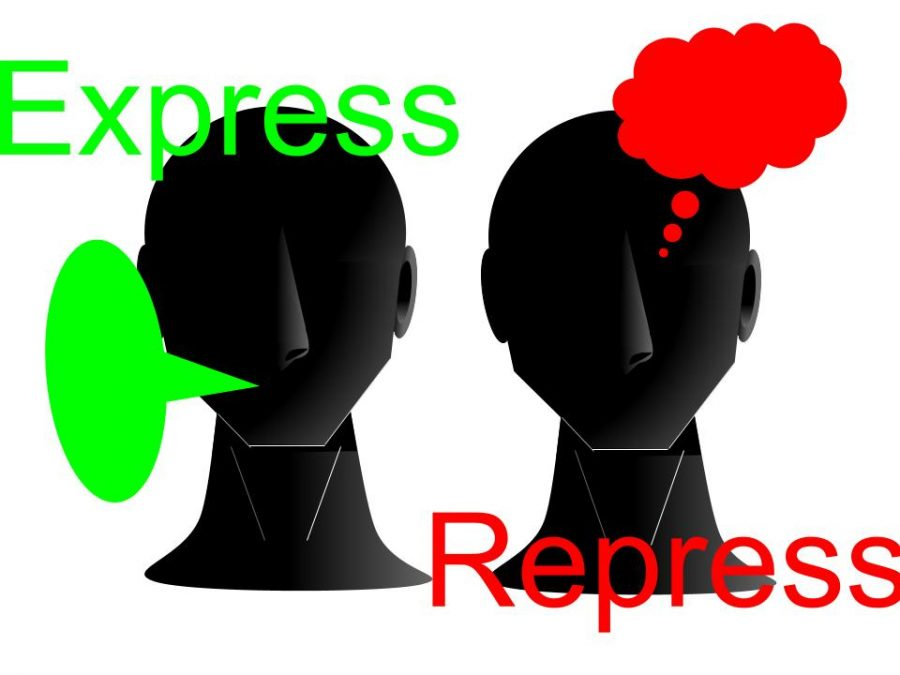 In society, the battle between expression and repression is ceaseless and brutal.
