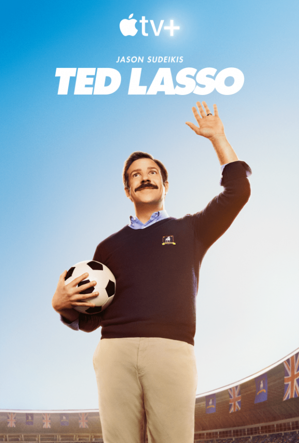 Check out Ted Lasso on Apple TV+ over spring break!