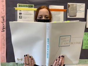 Avery Scanlon ('23) looks forward to receiving her yearbook next week.
