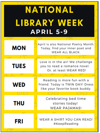 National Library Spirit Week